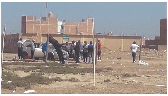 Tres hombres fueron arrestados en terrenos de Ciudad Eten, dos de ellos tenían armas de fuego y otro se enfrentó a la Policía.
