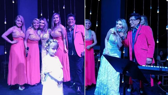 Juliana Oxenford cantó y bailó en su matrimonio junto a 'Pintura Roja' (VIDEO)