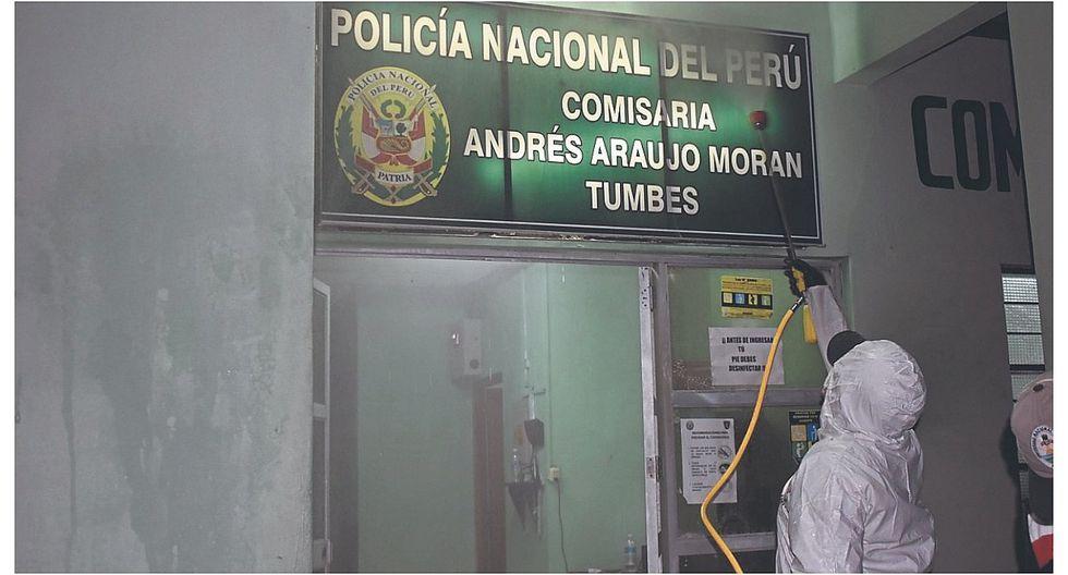 Tumbes: Aíslan a veintisiete agentes de la Policía