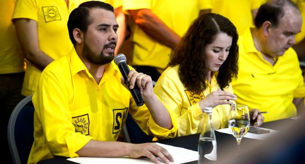 El vocero de Solidaridad Nacional informó que presentó una acción de amparo ante el Poder Judicial. Foto: Correo
