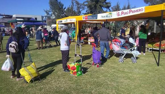 Proyectan 70 Mercados de la chacra a la olla en Arequipa