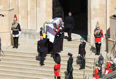 Así fue la sobria despedida del príncipe Felipe, esposo de la reina Isabel II (FOTOS)