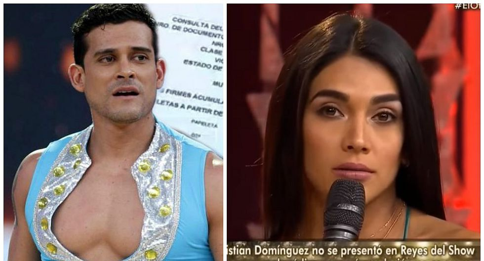 Christian Domínguez: Vania Bludau lanza polémica frase que deja mal al cumbiambero (VIDEO)