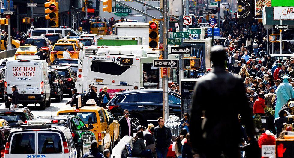 Nueva York cobrará el ingreso de autos particulares al centro de Manhattan