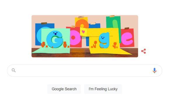 Doodle de Google por el Día del Padre. (Foto: Google)