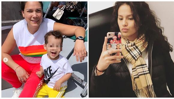 "Karim Vidal a Katty García: ""Yo reclamo a mi hijo. Tú y tu novio no me interesan"" (FOTOS)"