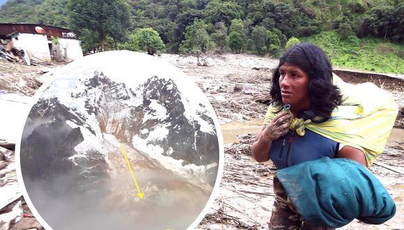 Cusco: Confirman que desprendimiento de glaciar ocasionó tragedia en Santa Teresa (FOTOS)