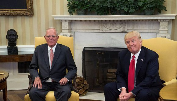 Donald Trump: PPK aboga por peruanos que llegaron a EEUU por terrorismo e hiperinflación aprista