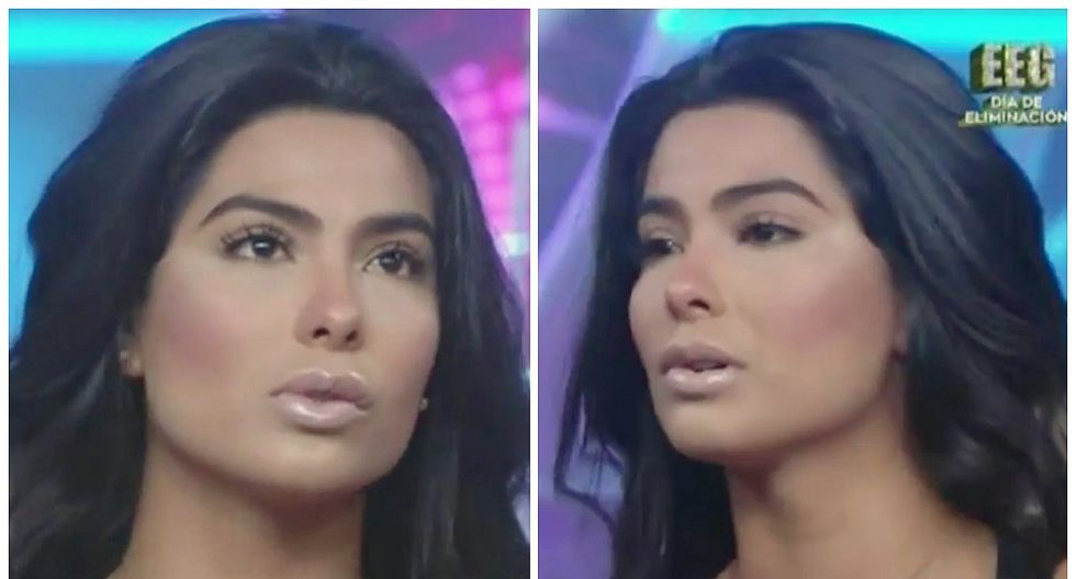 Ivana Yturbe reapareció afectada en 'EEG' tras el fin de su relación con Jefferson Farfán (VIDEO)
