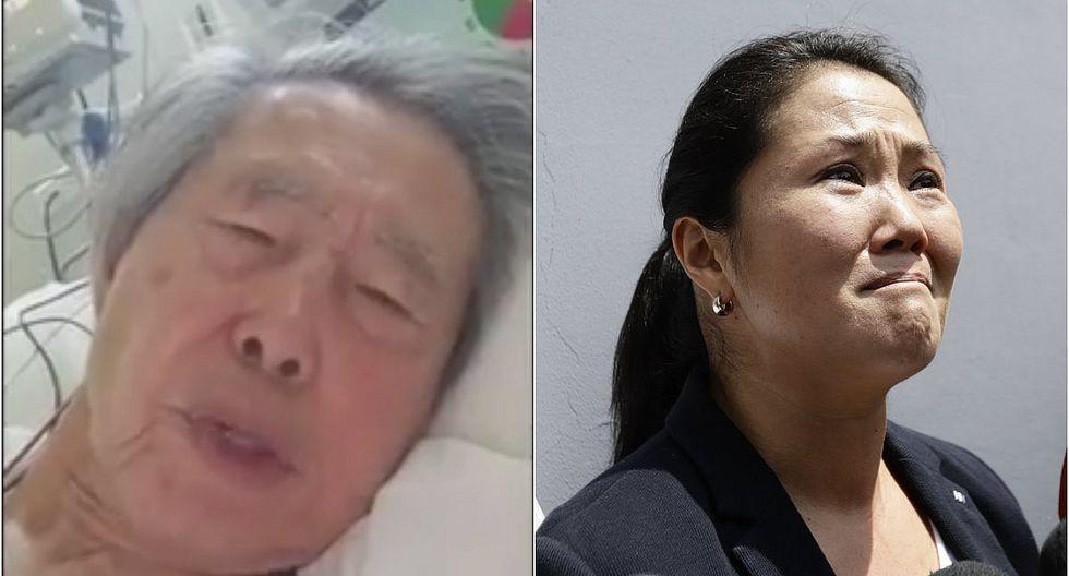 """Alberto Fujimori:""""No he sentido dolor más grande que ver a mi hija siendo llevada a prisión"""""""