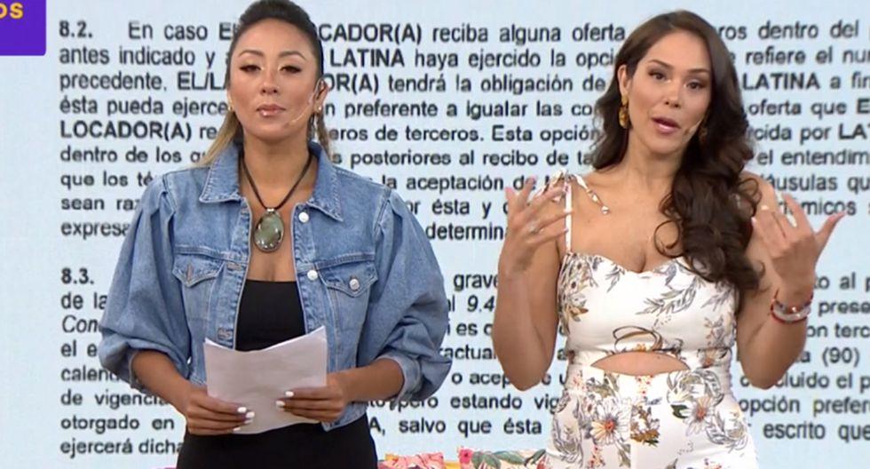 Mujeres al Mando revelan a detalle la corta notarial de Latina a Jazmín Pinedo