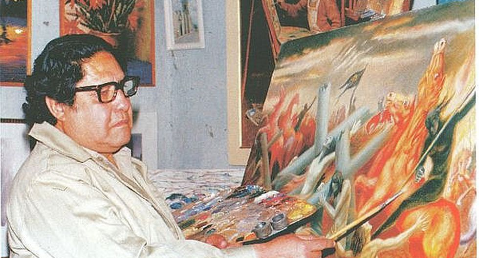 Fallece pintor arequipeño Oswaldo López Galván