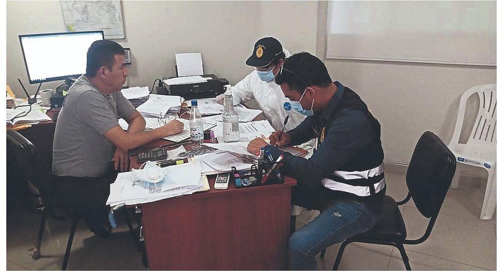 Piura: Allanan oficina de la Policía por contrato sospechoso
