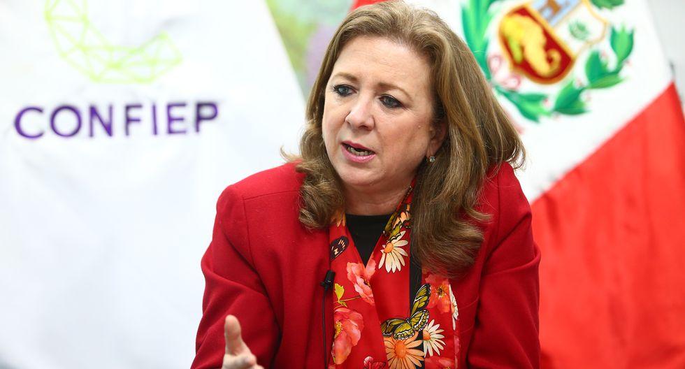 María Isabel León. (Foto: Confiep)