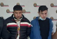 """Presuntos integrantes de banda delictiva """" Los Chiuchis de Huánuco"""" fueron capturados tras asalto"""