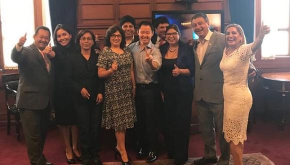 Kenji Fujimori anuncia creación de grupo parlamentario