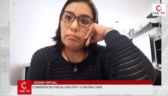 En un audio difundido Karem Roca dio cuenta que su esposo, Iván Zapata, no conocía sobre los audios grabados al presidente Martín Vizcarra.