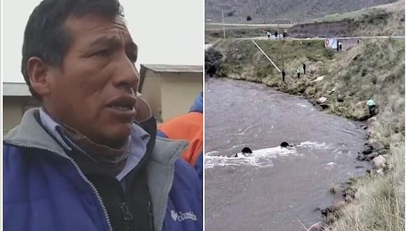 Montañista Eloy Cacya ayuda en la búsqueda de los desaparecidos en el río Velille