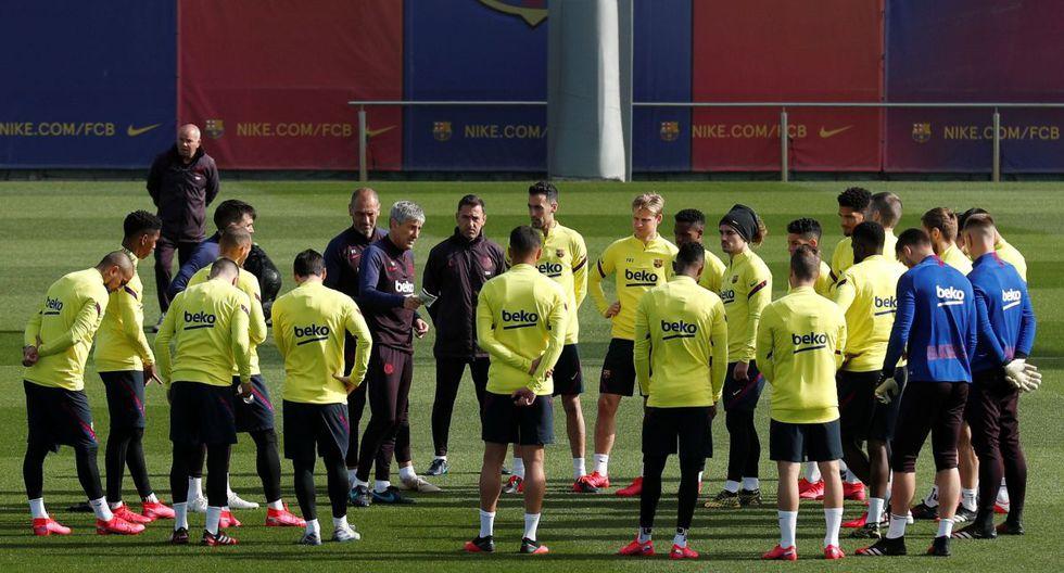 Cinco jugadores y dos técnicos del Barcelona dieron positivo al coronavirus