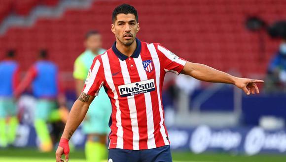 Luis Suárez llegó a Atlético de Madrid esta temporada. (Foto: AFP)