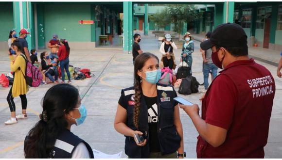 112 personas contagiadas con COVID-19 en Bagua.