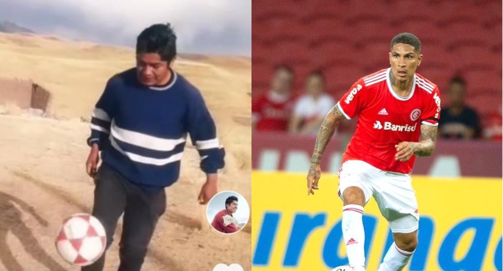 """Tiktoker cusqueño más conocido del mundo: """"Quiero ser como Paolo Guerrero"""""""