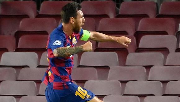 Lionel Messi será el primer capitán del Barcelona por tercer año seguido. (Foto: AFP)