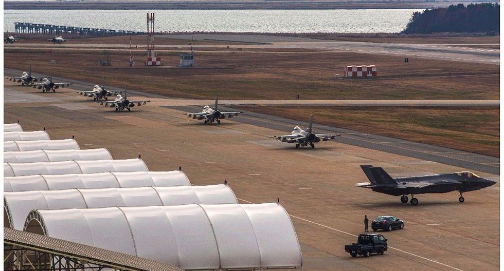 EE.UU y Corea del Sur lanzan operación aérea ante provocación norcoreana (VIDEO)