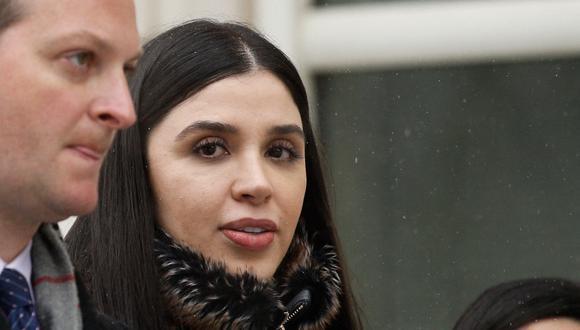 Emma Coronel Aispuro es acusada de colaborar en dos complots para ayudar a Chapo Guzmán a escapar de prisiones mexicanas. (Foto:   KENA BETANCUR / AFP)