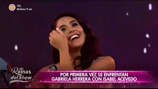 """Melissa Paredes y su comentario sobre posible embarazo de Vania Bludau: """"Está con náuseas"""" (VIDEO)"""