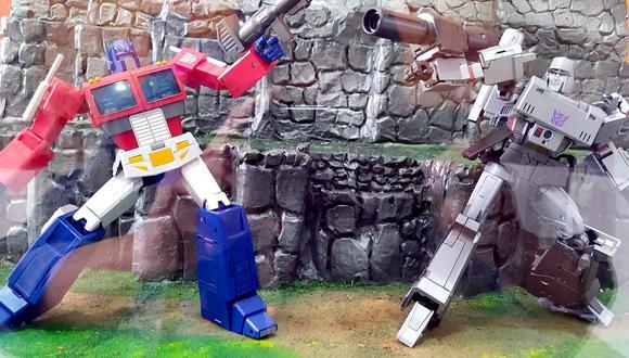 Exposición Transformers Cusco
