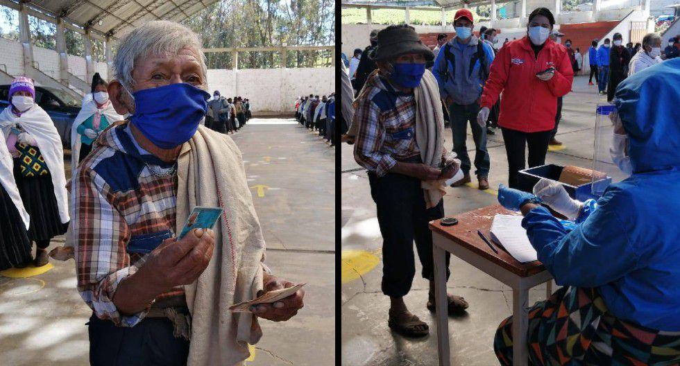 Huánuco: anciano de 120 años y el más longevo del Perú recibió su Bono Familiar Universal.