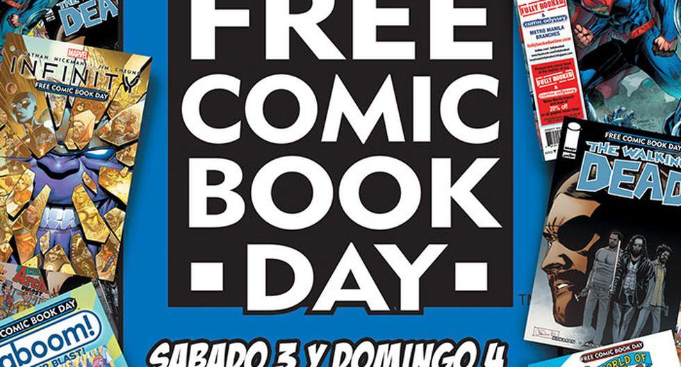 """Realizarán evento por el """"Día del Cómic gratis"""""""