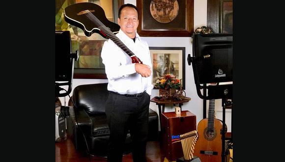 Diosdado Gaitán Castro regresó a Perú para presentar su nueva producción musical