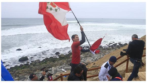 Lima 2019: Lucca Mesinas obtiene tercera medalla de oro en surf (FOTOS y VIDEO)