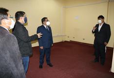 Amplían ambientes para reanudar atención presencial en sede judicial de Juliaca