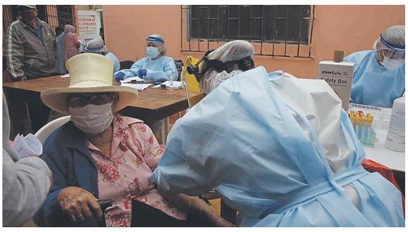 Detectan 312 nuevos casos en población vulnerable de Chimbote