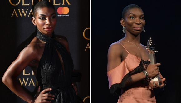 "Michaella Coel es el segundo actor confirmado para ""Black Panther: Wakanda Forever"". (Foto: Justin Tallis / Stefanie Loos / AFP)"