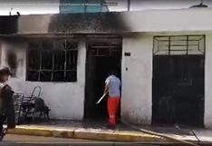 Incendio destruye enseres en vivienda del CP San Francisco