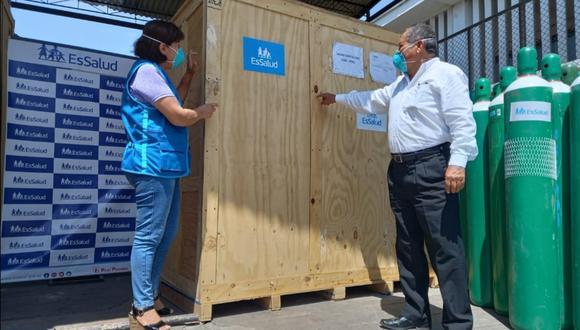Nueva planta de oxígeno para el Hospital Félix Torrealva y  la Villa EsSalud Ica.