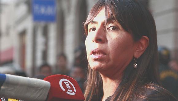 """Giuliana Loza sobre hábeas corpus: """"seguiremos luchando en todas las instancias necesarias"""""""