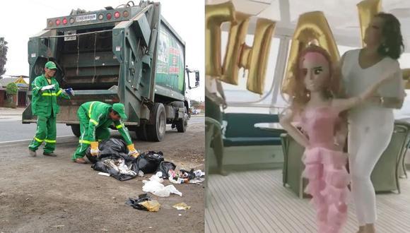 Municipalidad de Tumbes invita a sus vecinos botar la basura al estilo del 'Thalía Challenge'