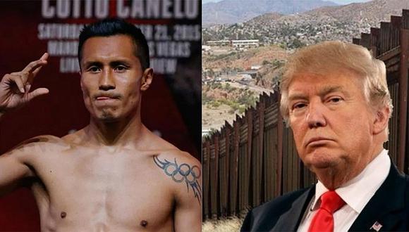 YouTube: boxeador mexicano derribó el 'muro fronterizo' de Donald Trump