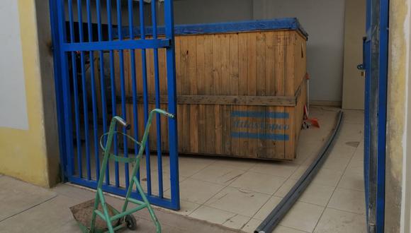 Accesorios se encuentran en el hospital Carlos Monge Medrano de Juliaca. (Foto: Feliciano Gutiérrez)