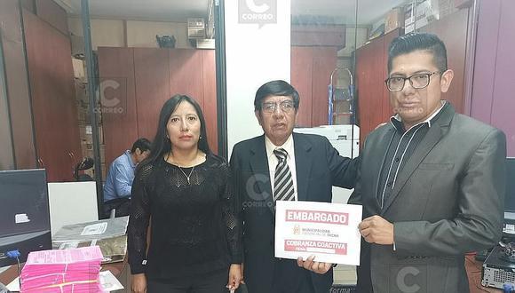 Tacna: Embargan S/ 5 millones por sistema bancario