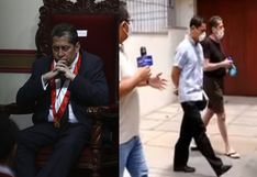 Magistrado Eloy Espinosa-Saldaña sacó a pasear a su perro a pesar del aislamiento social obligatorio (VIDEO)