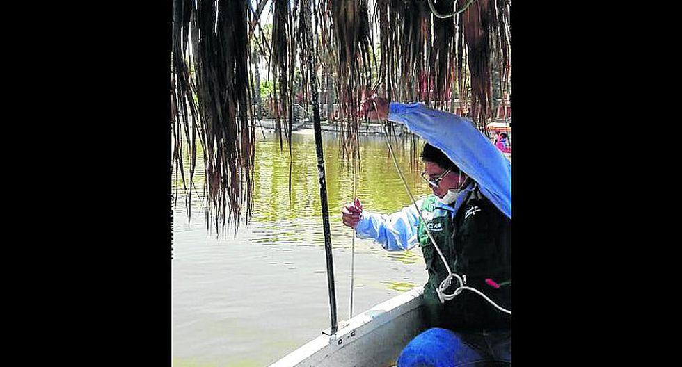 Huacachina: expertos analizan calidad el agua de la laguna