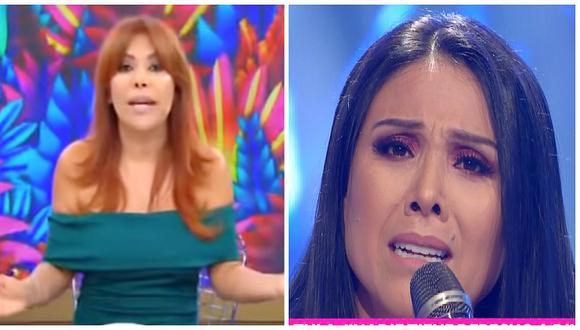 """Magaly Medina sobre pronunciamiento de Tula Rodríguez: """"Es melodramática"""" (VIDEO)"""