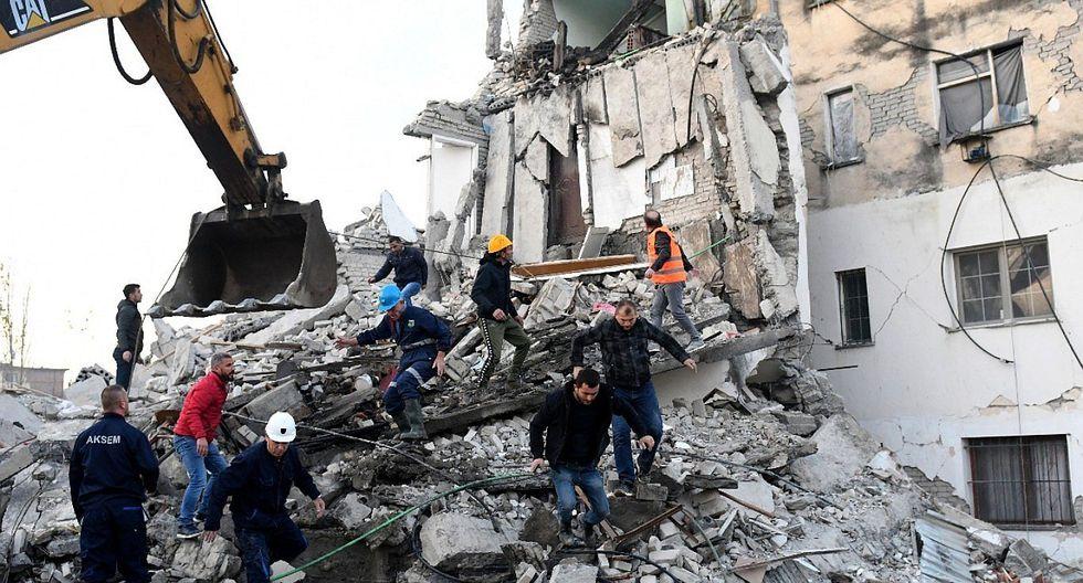 EN VIVO| Terremoto en Albania deja al menos 13 muertos y viviendas destruidas