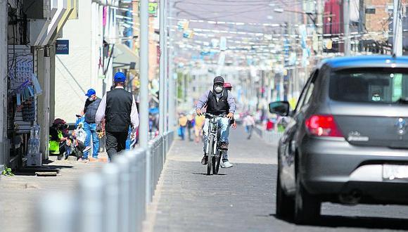 Malos ciclistas en Arequipa recibirán multas de hasta 344 soles